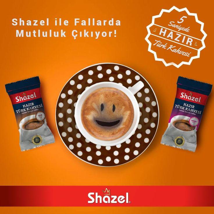 Neyse haliniz, çıkmış falınız. :) Shazel Hazır Türk Kahvesi ile bahtınızda gülümseme görünüyor! :) Bol kahkahalı günler dileriz. https://shazel.com.tr/  #shazel #turkkahvesi #hazırtürkkahvesi