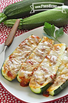 Photo of Zucchini Pizza Boats