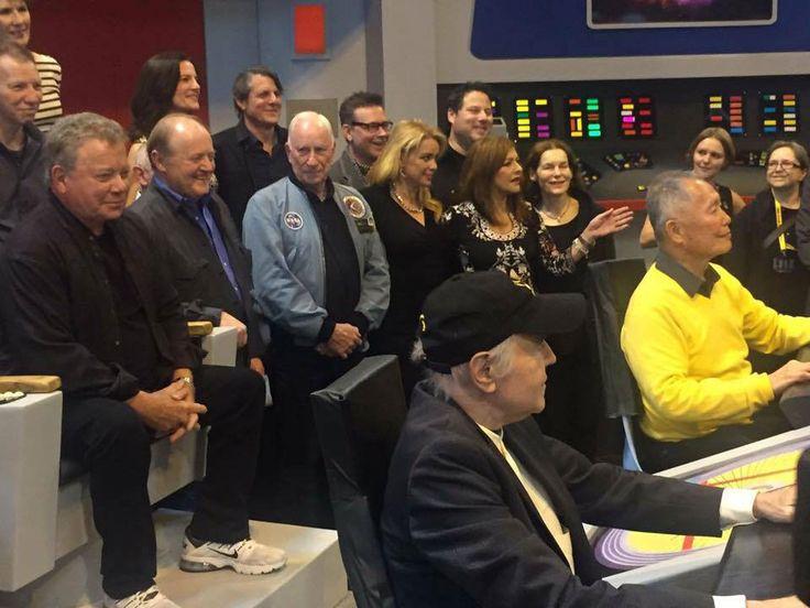 Star Trek, Destination Europe....An awsome picture.