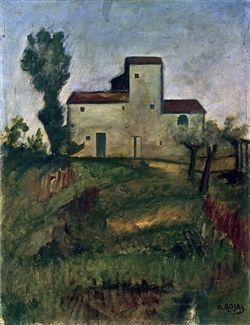 Ottone Rosai La casa del vento http://www.florencewithguide.com/it/blog-it/la-firenze-scomparsa-di-ottone-rosai/
