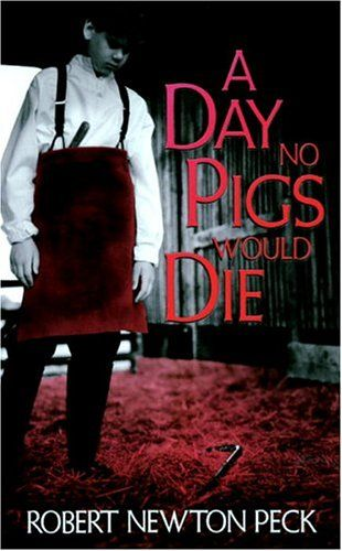 """""""A Day No Pigs Would Die"""" by Robert Newton Peck-- the author weaves a story of a Vermont boyhood that is part fiction, part memoir. The result is a moving coming-of-age story that still resonates with teens today. One of the first young adult books."""