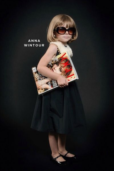 Hot Links! The Cutest Little Anna Wintour You Ever Did See | BettyConfidential