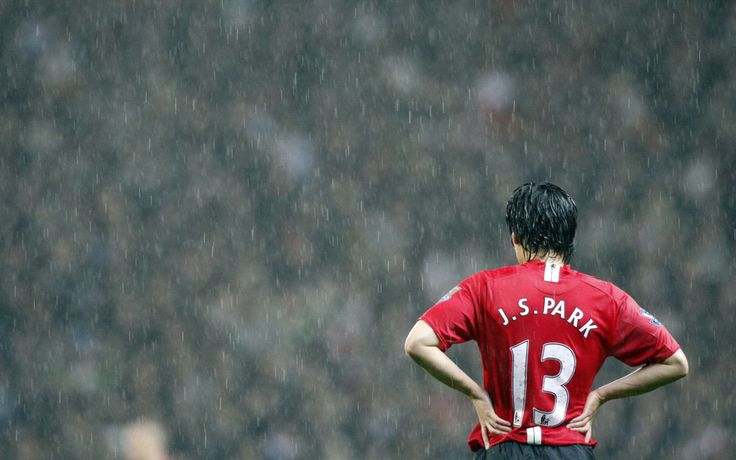 Ji-Sung Park, a South Korean footballer who plays for Manchester United