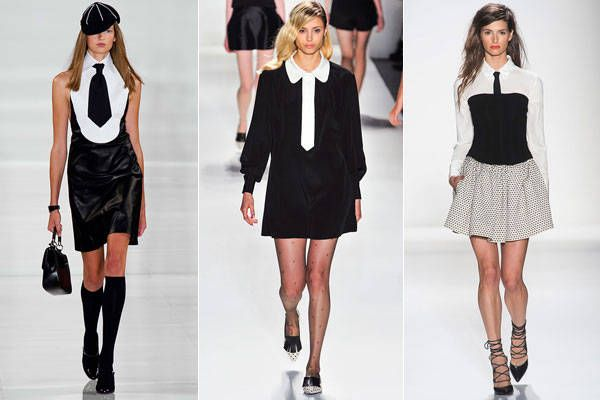 Three is a Trend - Spring 2014 Style Trends from Fashion Week - Harper's BAZAAR