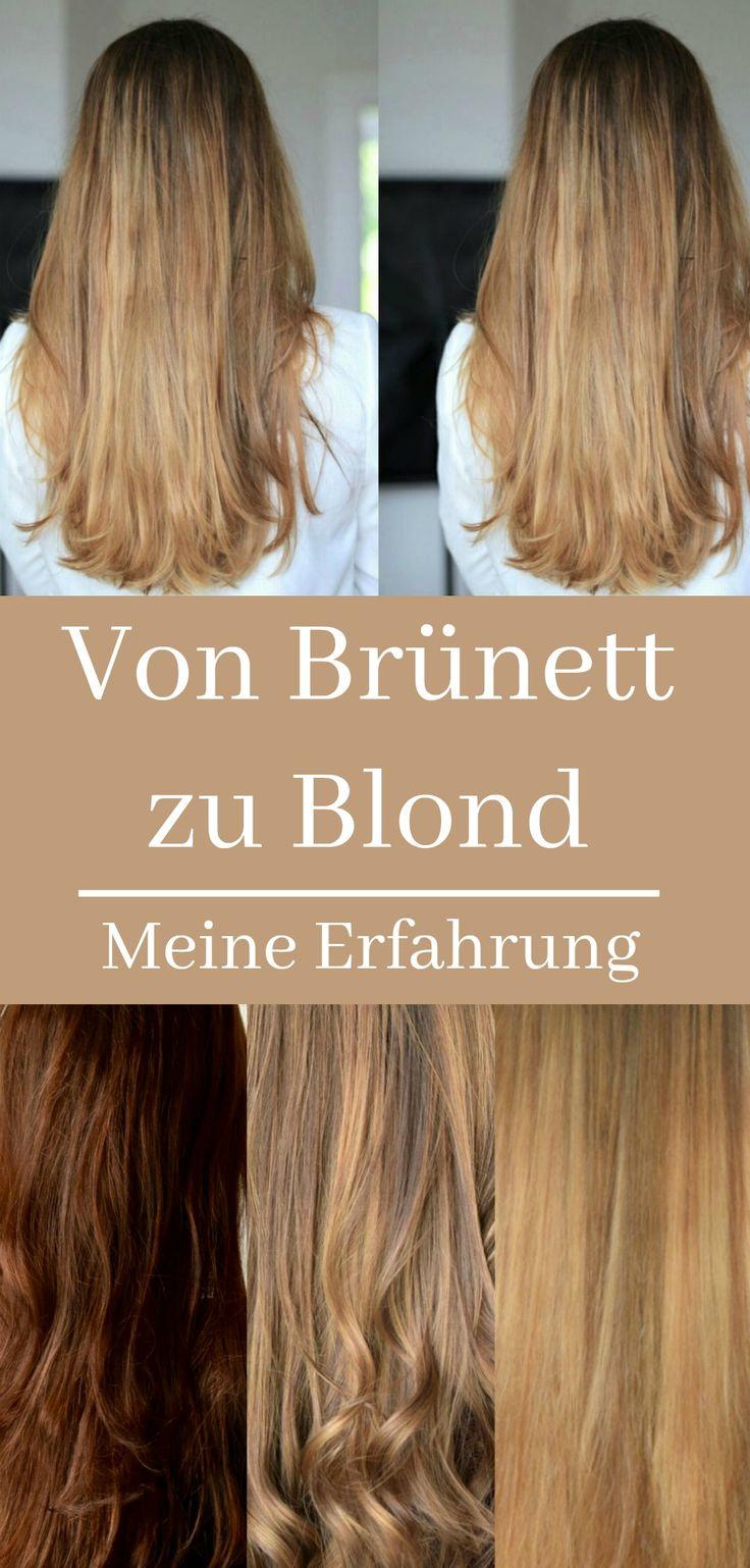 Von Brünett zu Blond - meine Erfahrung. In nur 2 Wochen habe ich meine Haarfarbe von Braun zu Blond geändert. So hat es funktioniert und so geht es meinen Haaren jetzt. ☆ Balayage ☆