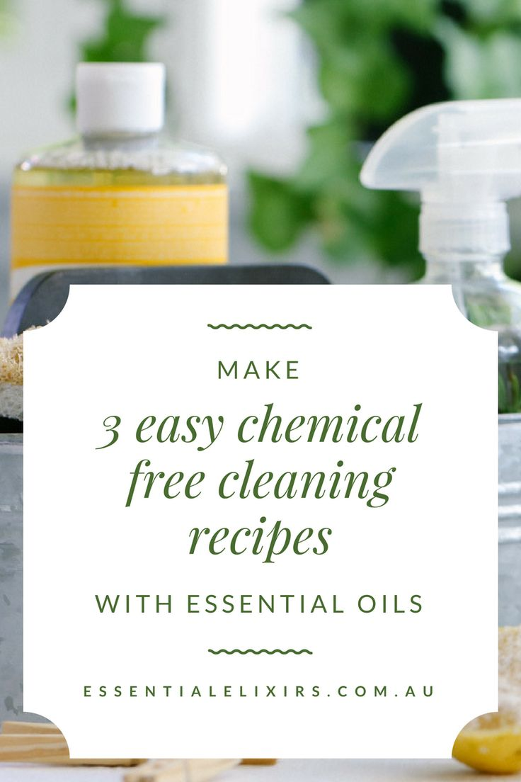 Easy chemical free cleaning recipes