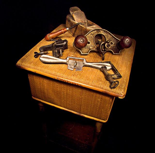 Old Tools a still life by nfin10, via Flickr