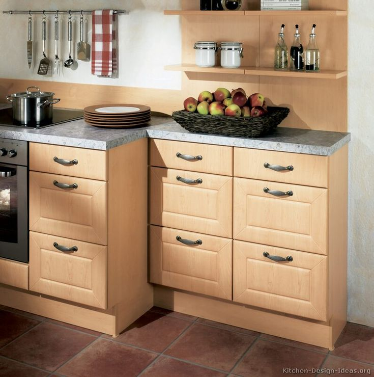 Kitchen Design Light Wood Cabinets: Wood Tables, Rustic Furniture And Stems
