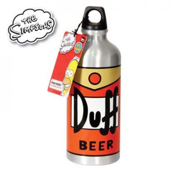 Gourde Bière Duff Simpsons // 12.90€ // la gourde version Homer Simpsons !