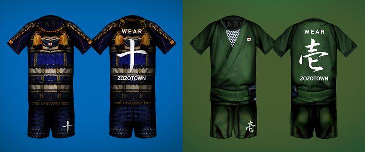 テーマは「侍」と「忍者」、背番号は漢数字 11月5日開催チャリティーマッチの特製ユニが奇抜 | サッカーキング