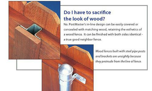 Wood Fence Post Options Classic Wood Fence We stock a wide range of fence post…