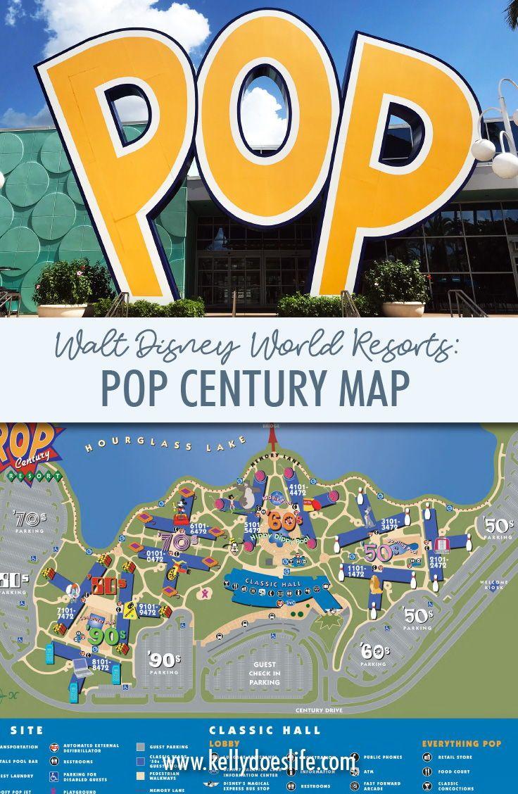 Pop Century Resort Map : century, resort, Century, Disney, World, Value, Resort, Century,