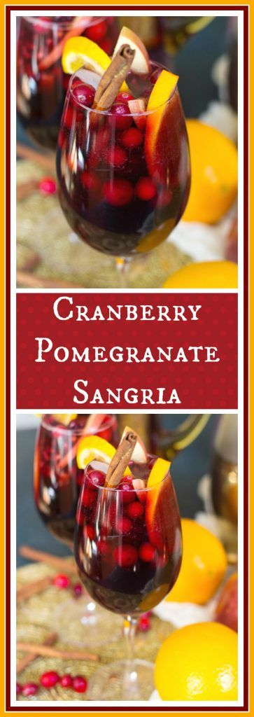 This holiday red wine sangria is loaded with seasonal fruit and juices, and it's also spiked with booze, and it's fizzy and effervescent. A bright and refreshing cocktail option for ringing in the New Year!
