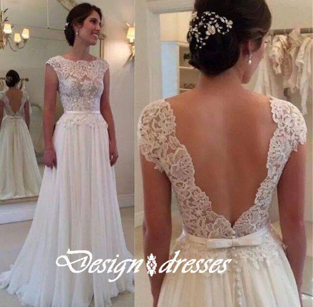 White Prom Dress,Floor-Length Prom Dress, Sexy Prom Dress,Backless Prom Dress,Sheer Prom Dress,Chiffon Prom Dress , Cheap Prom Dresses Prom Dress
