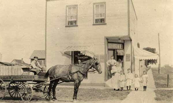 Baron Family Store, Portage la Prairie, MB 1915