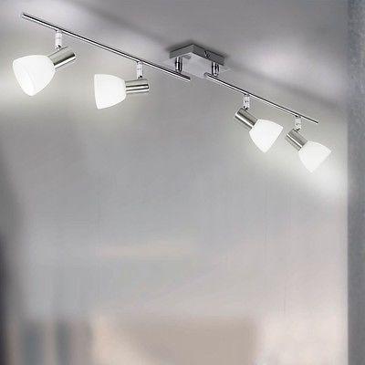 Alto Faretto da soffitto Illuminazione Lampadina Lampada Salotto Terra WOFI