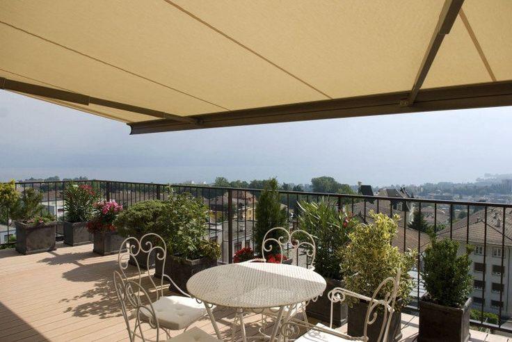 ... auvent rétractable ou store pour le balcon auvent rétractable balcon