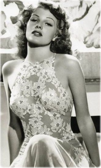 Rita Hayworth, Timeless.                                                                                                                                                      More