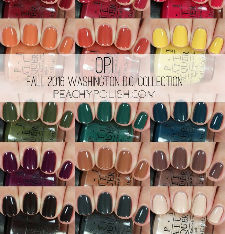 Opi Fall 2016 Washington D C Collection Peachy Polish In 2019 Autumn Nails Nail Colors
