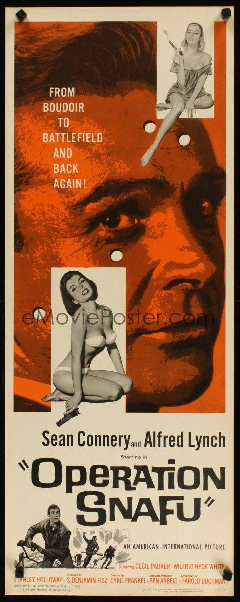 Operation Snafu (1961) On the Fiddle (original title) Stars: Alfred Lynch, Sean Connery, Victor Maddern, John Le Mesurier ~ Director: Cyril Frankel