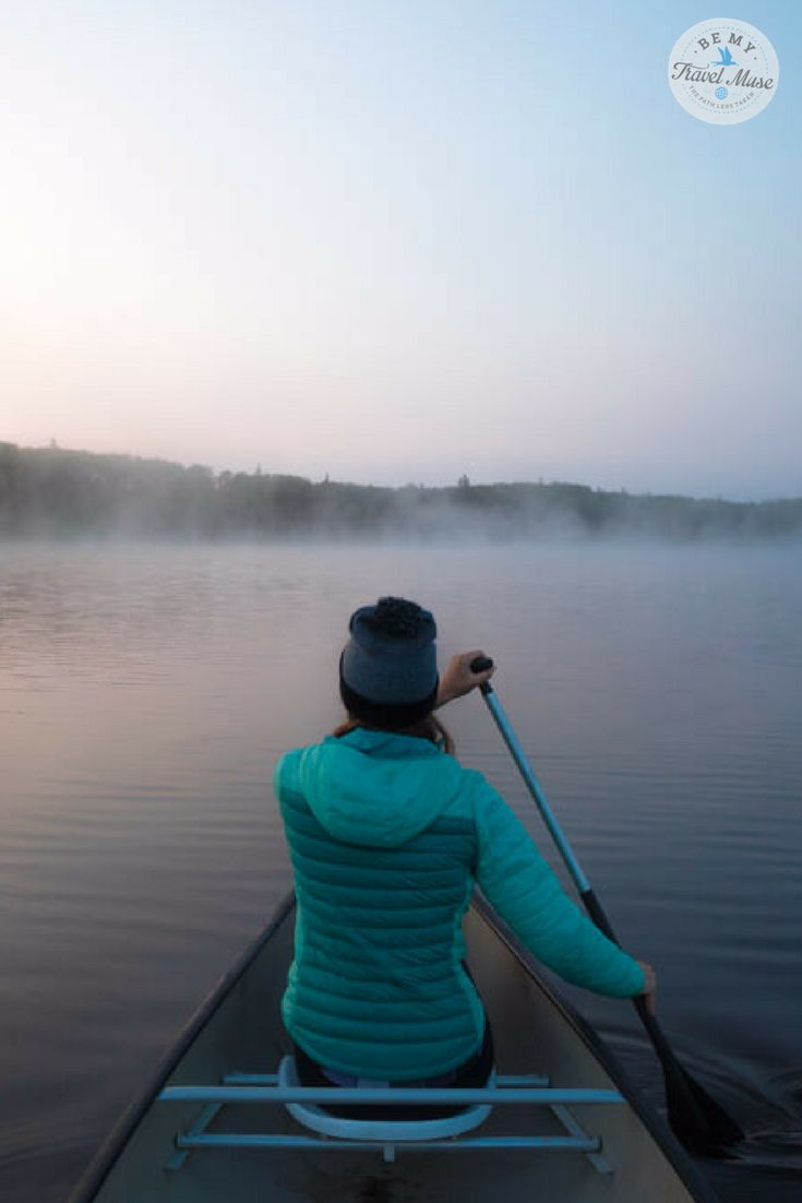 A 4-day canoe trip through Manitoba's Nopiming Provincial Park during summer. Paddle during the day and sleep at a different campsite each night. The perfect way to explore a pristine region of Canada. || Be My Travel Muse