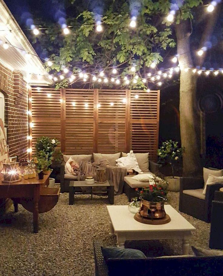 Easy Backyard Patio