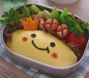 お弁当:にっこりオムライスの作り方|レシピブログ