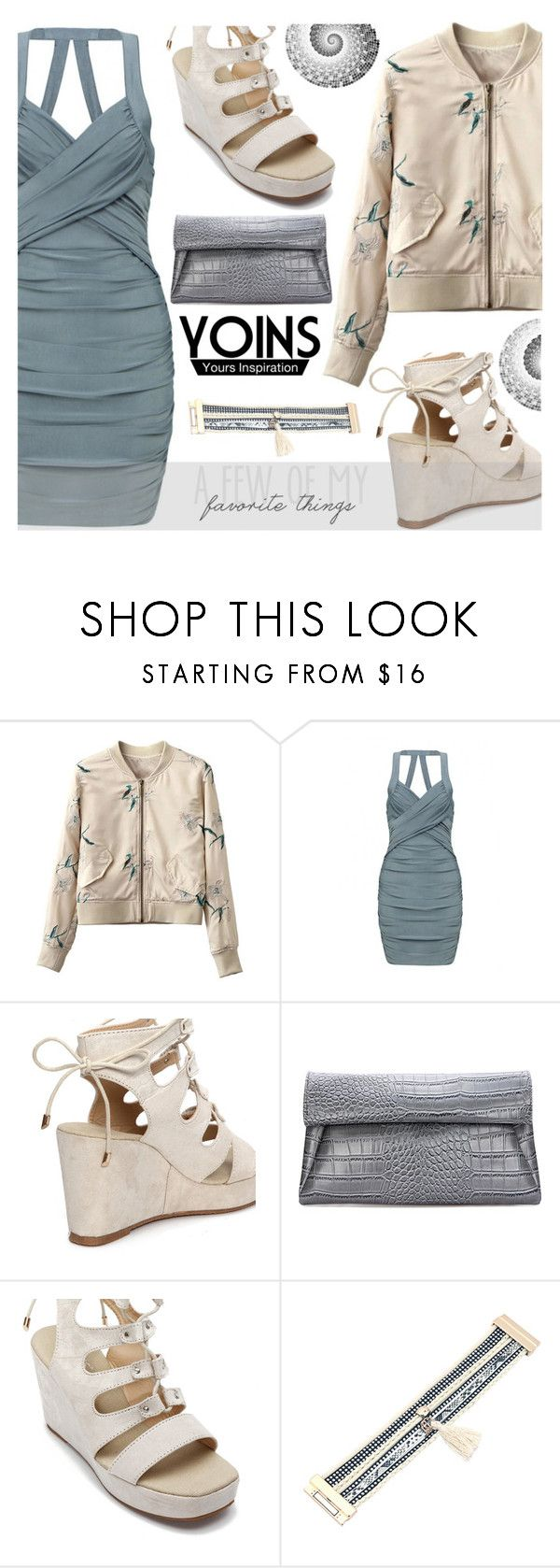 """Yoins: Summer Dress"" by ana3blue on Polyvore"