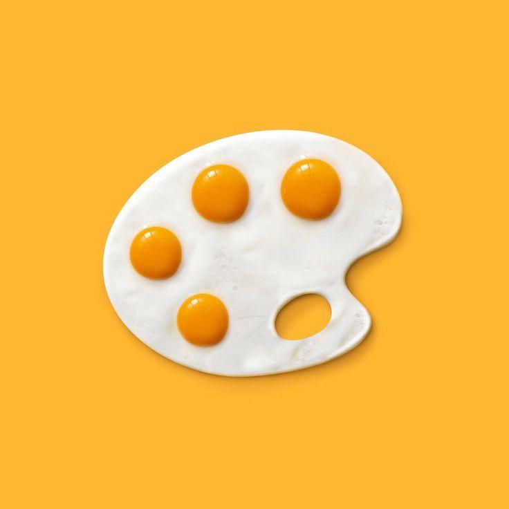 Breakfart #360brain  #art #artist #design #designer #artwork #digitalart #illustration #digitalillustration #instaart #instaartist #instagramrussia #minimal #minimalism #surreal #surrealism #photoshop #contemporary #contemporaryart #vsco #vscocam #breakfast #eggs #palette