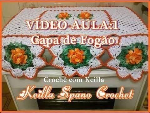 VÍDEO AULA: Capa de Fogão- PARTE1 - YouTube                                                                                                                                                      Mais