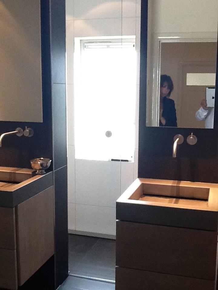 2011 - Badkamer helemaal naar onze zin...#design in jaren '30 woning!