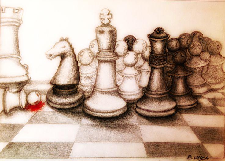 Barbara Visca #chess  #visca #viscabarbara #barbaravisca  #illustrazione #illustration #art#artist  #pedoneassassinato #pedone #scacchi #