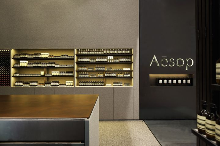Aesop store by Kerstin Thompson Architects, Singapore