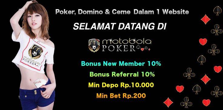 agen poker online indonesia & domino & bandar ceme judi terbaik dan terpercaya