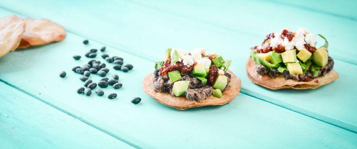 Chipotle and Black Bean Tostadas | Vegan - adventures in food | Pinte ...