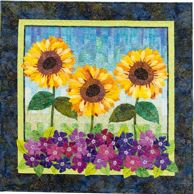 210 best quilts sunflowers images on pinterest sunflowers flower show quilts by martingalethat patchwork place via flickr fandeluxe PDF