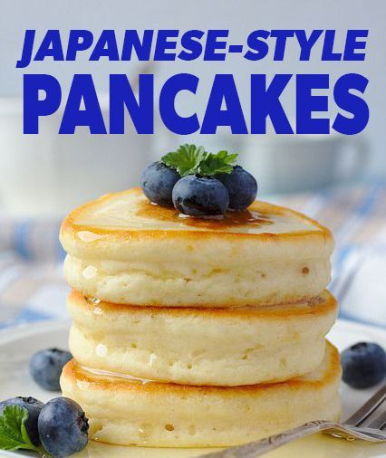 Pancakes! Japanese-style... - Eat. Fit. Fuel.