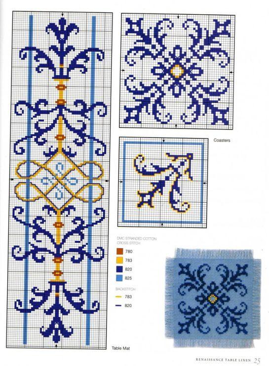 Gallery.ru / Фото #23 - Elizabethan Cross Stitch - Orlanda
