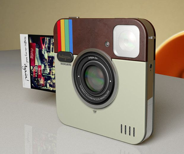Instagram Socialmatic Camera