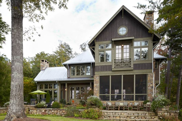 Exterior On Pinterest Modern Farmhouse Luxury House Plans And Lakes