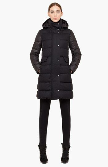 Akris punto Quilted Down Coat available at #Nordstrom