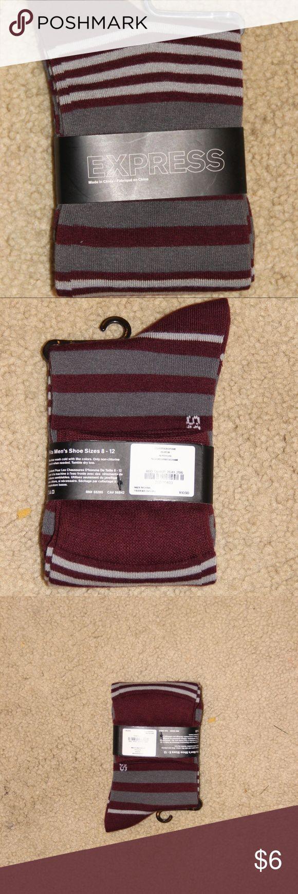 Express Dress Socks Men's Socks. New. Shoe Size 8-12 Express Underwear & Socks Dress Socks