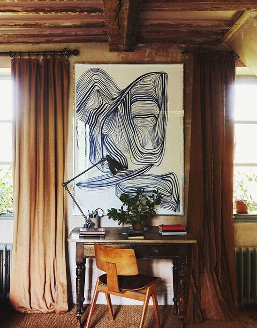 11 Beispiele, wie sich Kunst an den Wänden am bes…