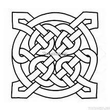 Подборка орнаментов и рисунков для резьбы по дереву - кельтские узоры.