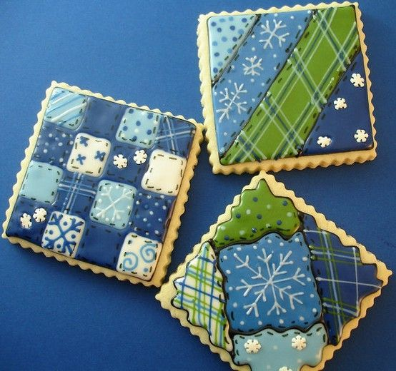 Quilted cookies - Beautiful!   by aileen