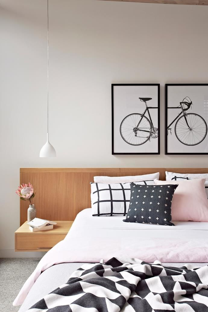 Wondering what to do with the blank wall behind your bed? Get inspired with these suggestions. #interior #design #bedroom #home #DIY #inspiration