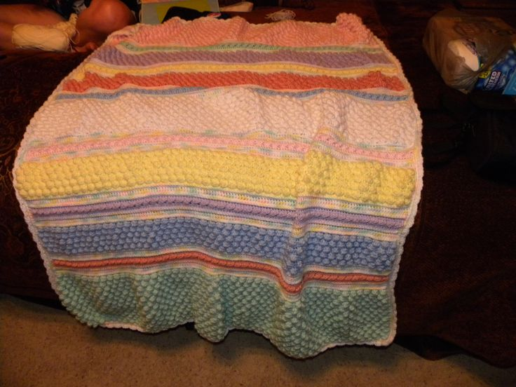 26 Best Crocheted Blankets Finished Images On Pinterest Crochet
