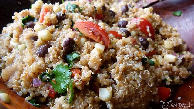 Southwest Quinoa Salad | Recipes - Main Dishes | Pinterest
