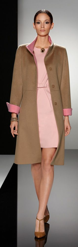 """Find out where Glamour Goddess wore this blush pink Cinzia Rocca dress. Read """"BOB"""" at: ndnyurlife.com #fallintofashion14 #mccallpatterncompany  like the silhouette and the colors."""