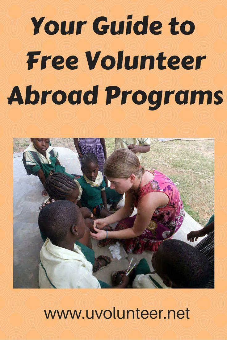 Free Volunteer Abroad Programs:  http://blog.uvolunteer.net/what-you-should-definitely-know-about-free-volunteer-abroad-programs  traveling around the world, volunteer opportunities, volunteer overseas, volunteer organization, volunteer opportunities abroad, volunteer work